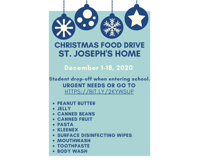 Christmas Food Drive Featured Photo
