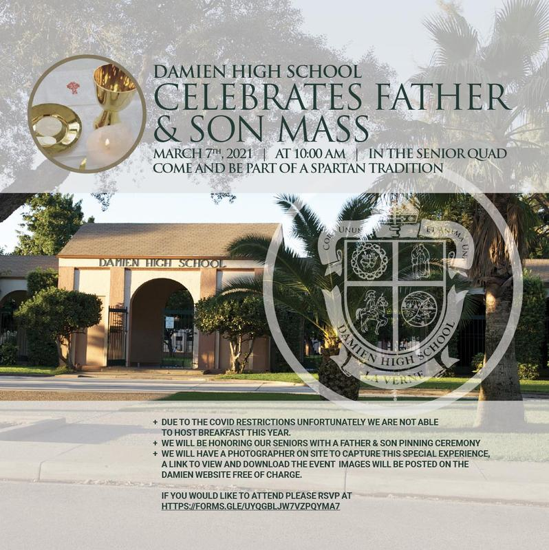 Please join us for Father-Son Mass Featured Photo