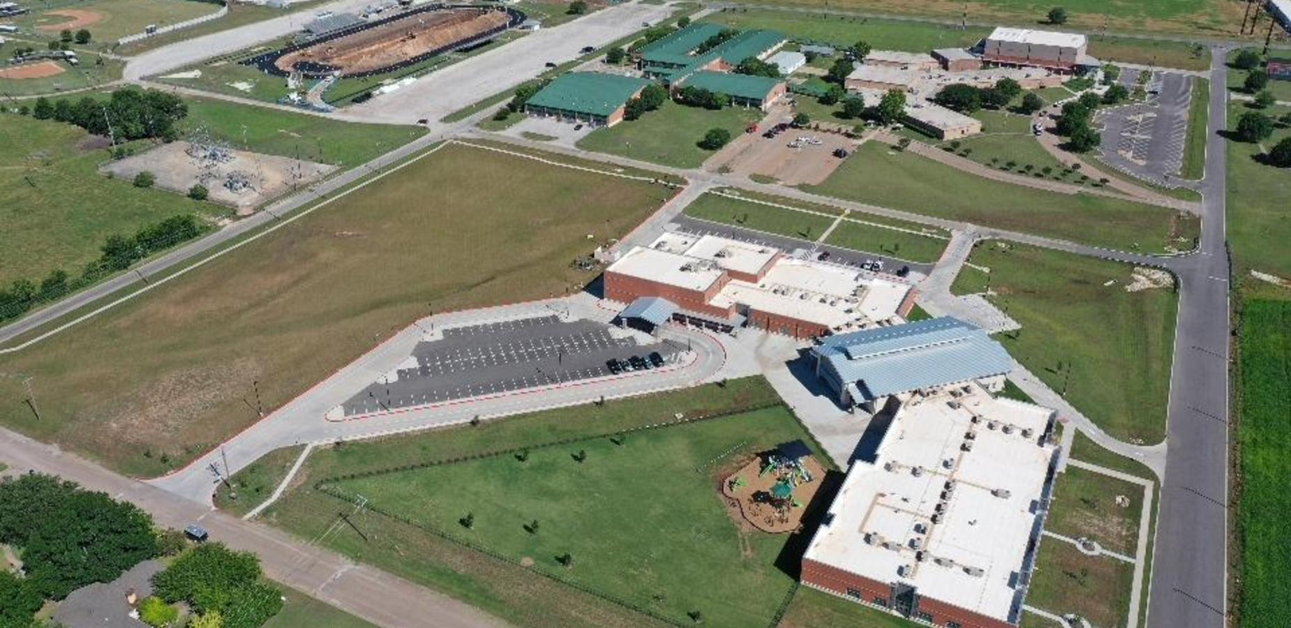 Clifton ISD Aerial View