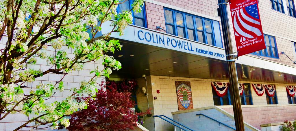 Colin powell entrance