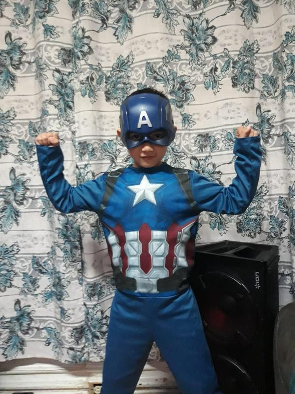 Evans as Captain America