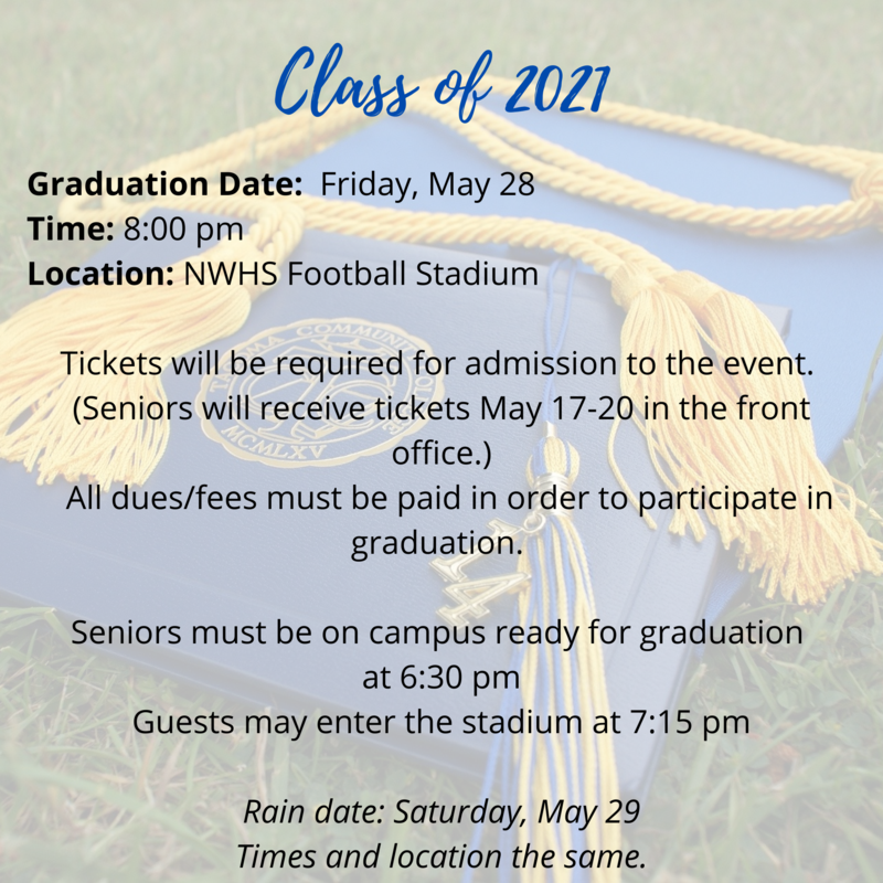 Graduation 2021 - Click Here for More Information Thumbnail Image