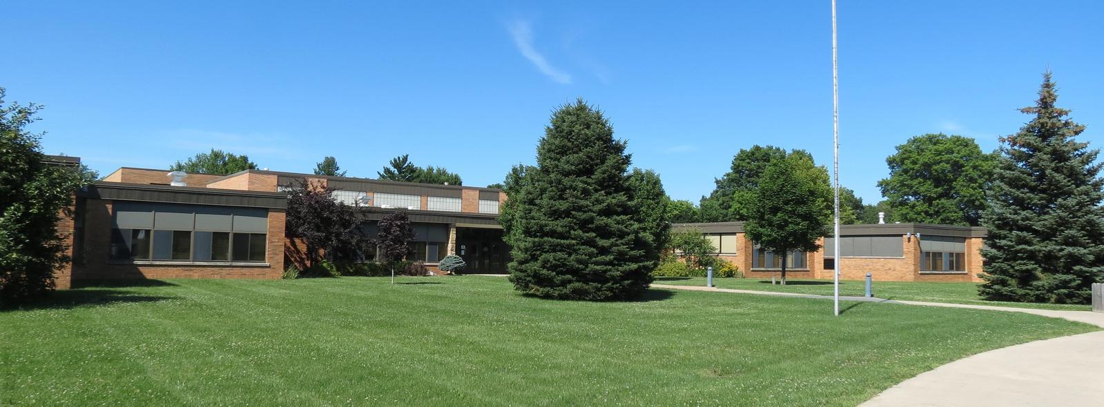 Dix Street Elementary building