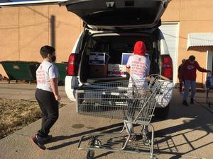 WMS Leadership Team - Trip to Food Bank