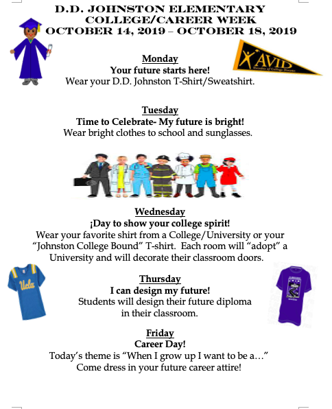 College and Career Week October 14 - 18 Featured Photo