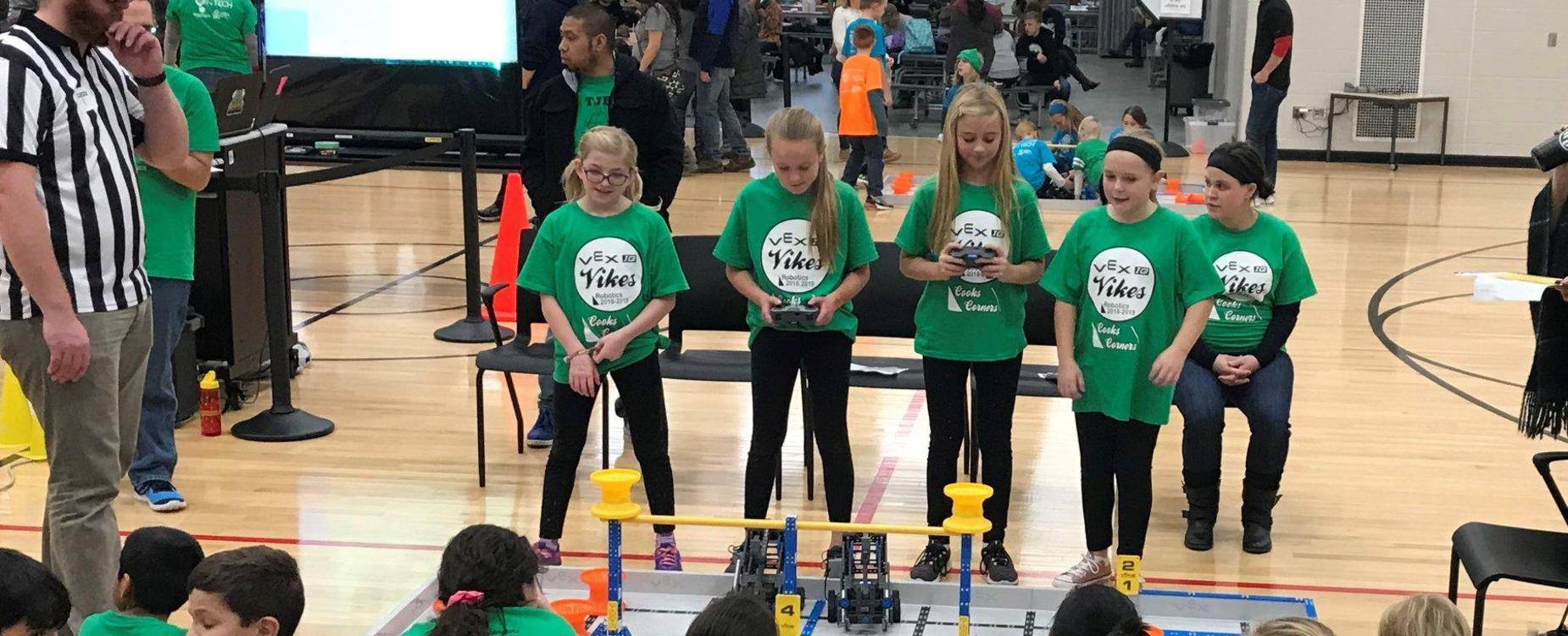 Robotics Club competes