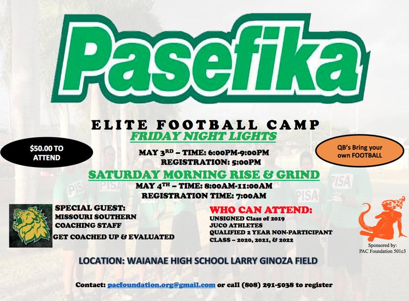 Pasefika Elite Football Camp Featured Photo