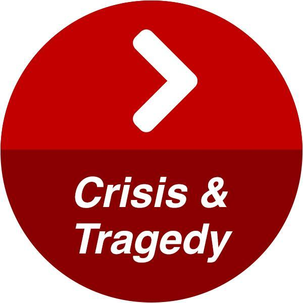 Crisis and Tragedy button