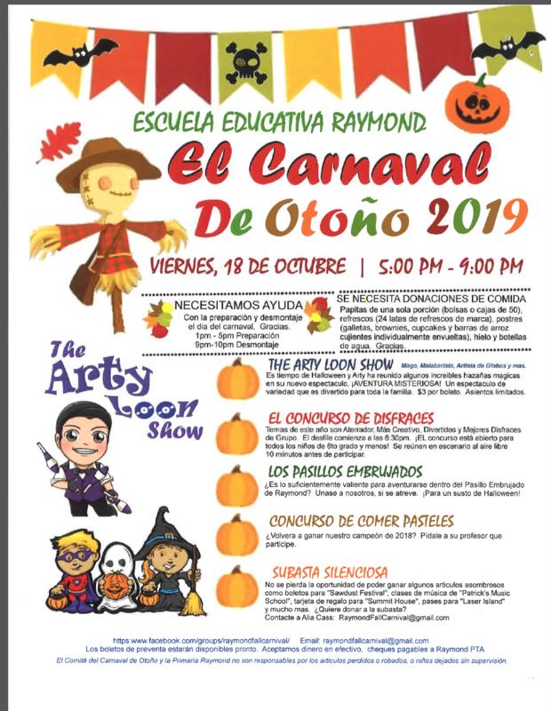 Raymond Carnival - Spanish