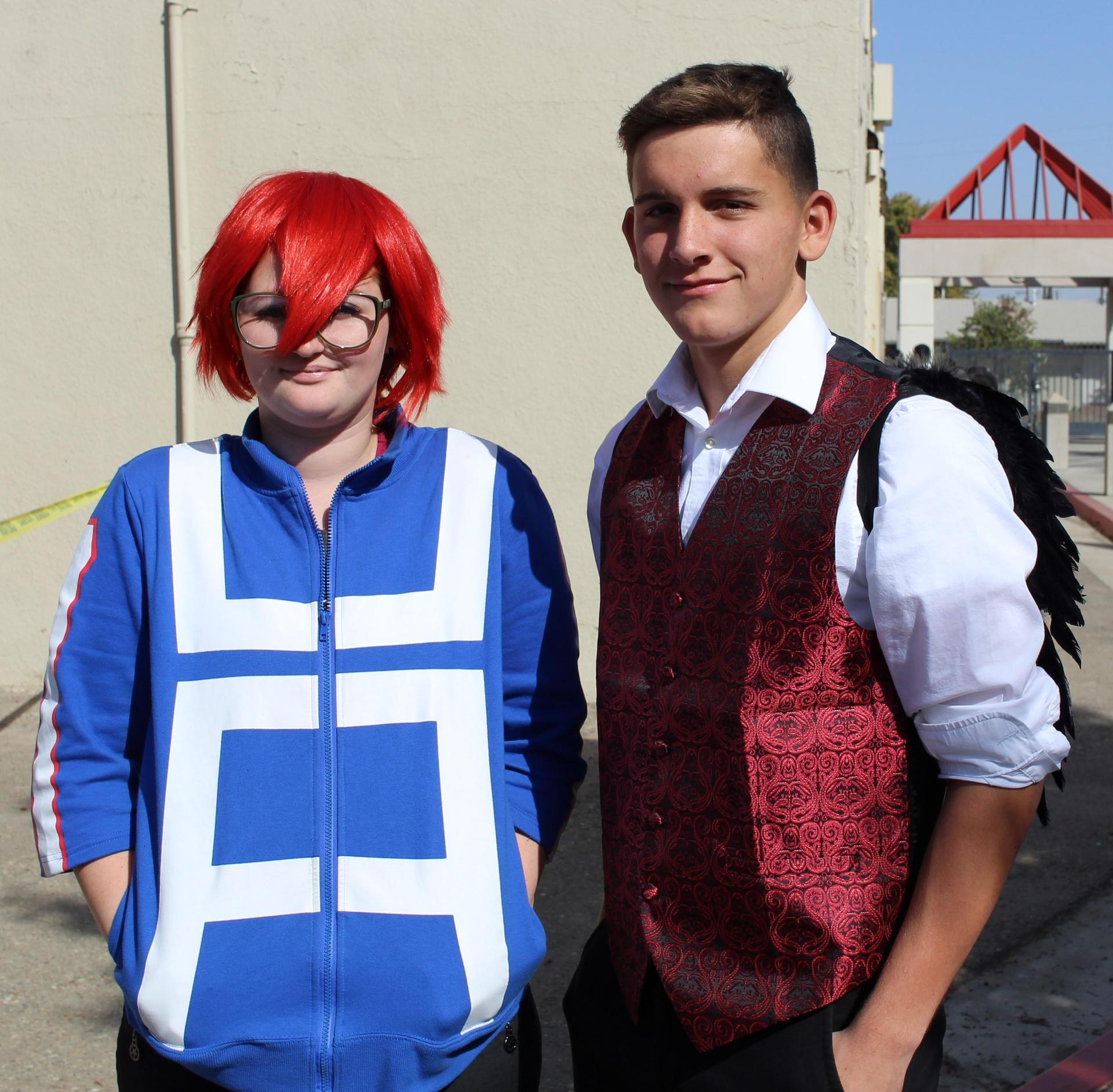 Lily Kammerdiener as Kirishima and Gavin Celedon as Lucifer