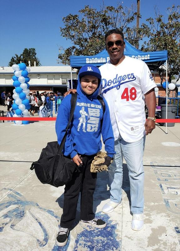 Baldwin Park High School hosted its second annual Dodger Day to celebrate students for promoting a positive and welcoming environment on campus, using the Positive Behavioral Interventions and Supports (PBIS) framework.
