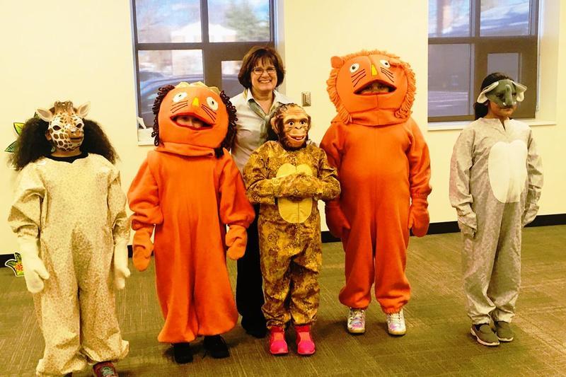 Children's author visits with D124 families Thumbnail Image