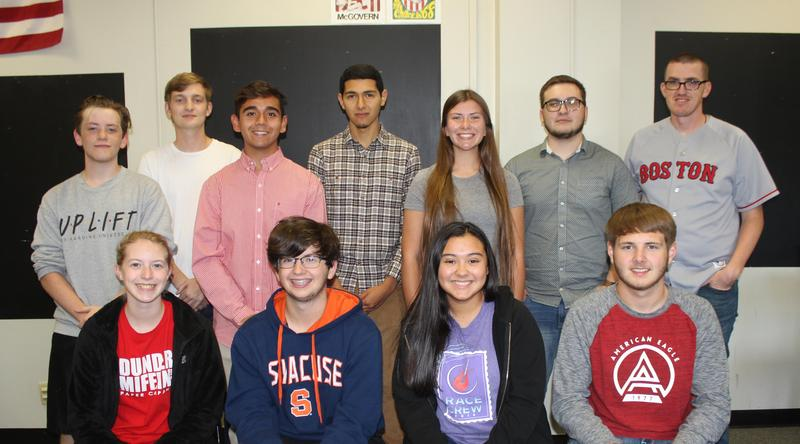 CHS Youth and Government team members