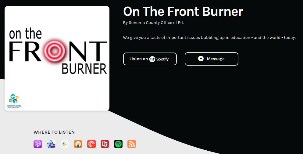 On The Front Burner podcast