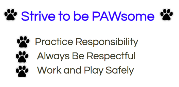 Strive to be PAWsome
