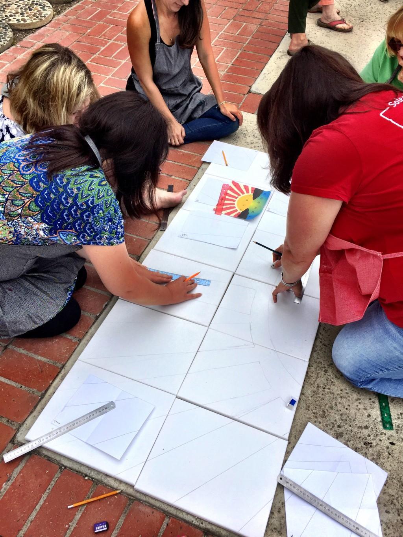 Teacher Team Building Artwork Activity