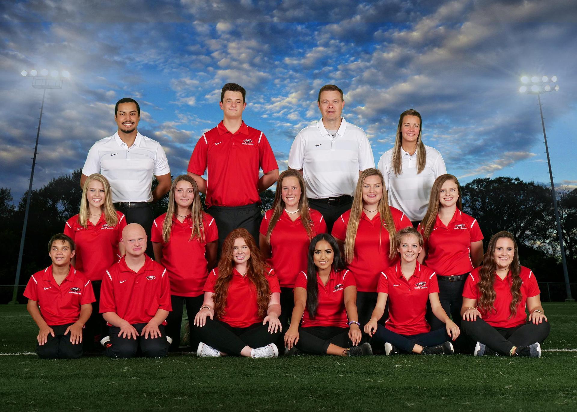 2018-2019 Athletic Training Students/Staff