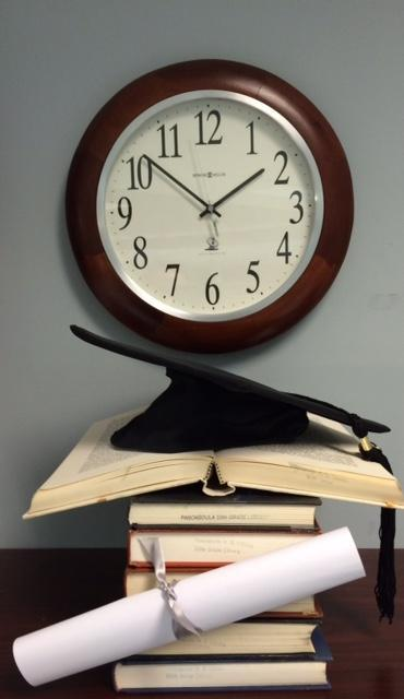 clock with hat_ON WALL
