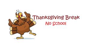 Thanksgiving Break Logo