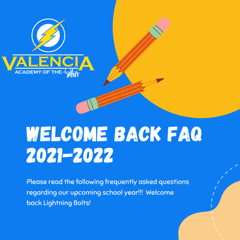 Welcome Back Lightning Bolts: FAQ for 2021-2022 Featured Photo