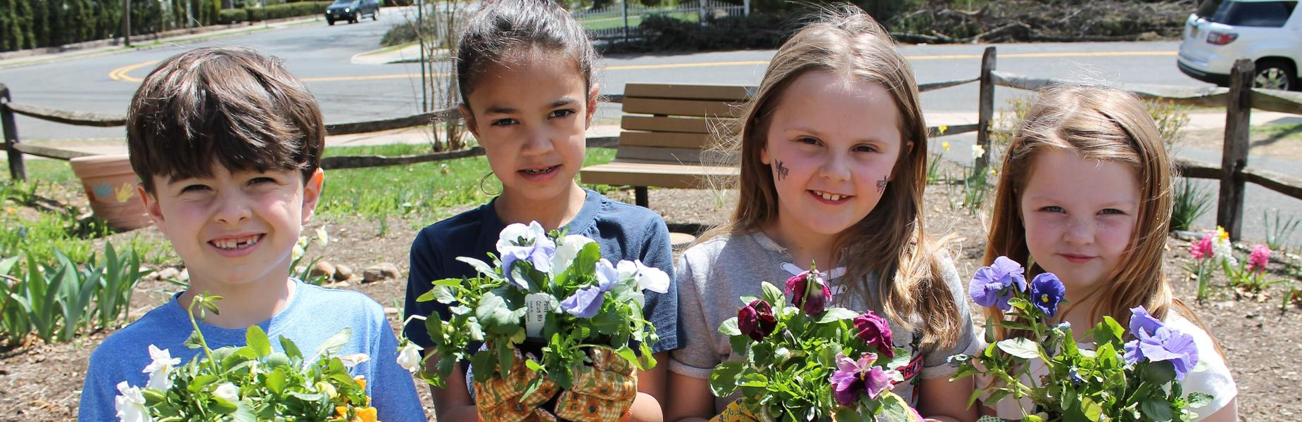 Spring. Members of the Habitat Garden Club at Franklin took advantage of two days of sunshine and warmer temperatures to plant some flowers and vegetables, including lettuce, broccoli, cabbage and onions.