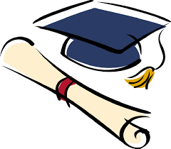 Photo of clipart of cap and diploma