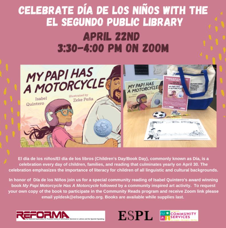 Celebrate Dia de los Niños with the El Segundo Public Library Featured Photo