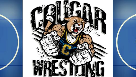 Cougar Wrestling Clipart