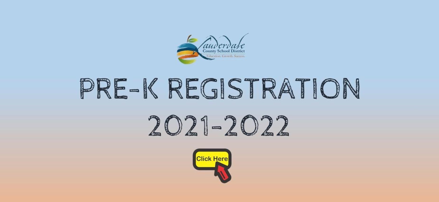 LCSD Pre-K Registration