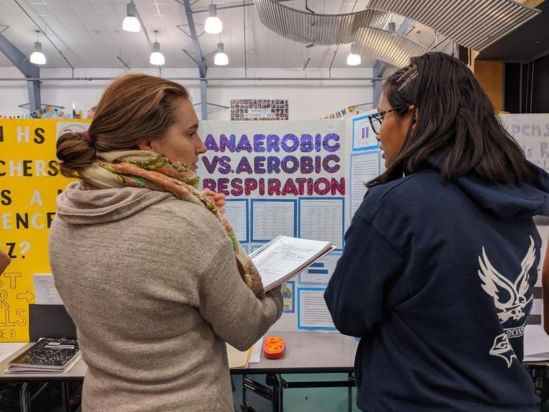 Students Present Projects at the High School Science Fair! Featured Photo