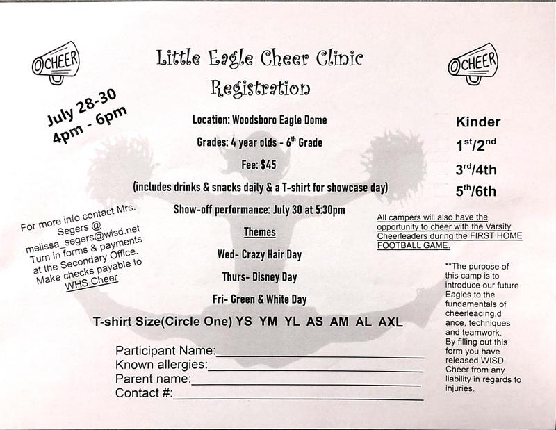 Little Eagles Cheer Clinic Featured Photo