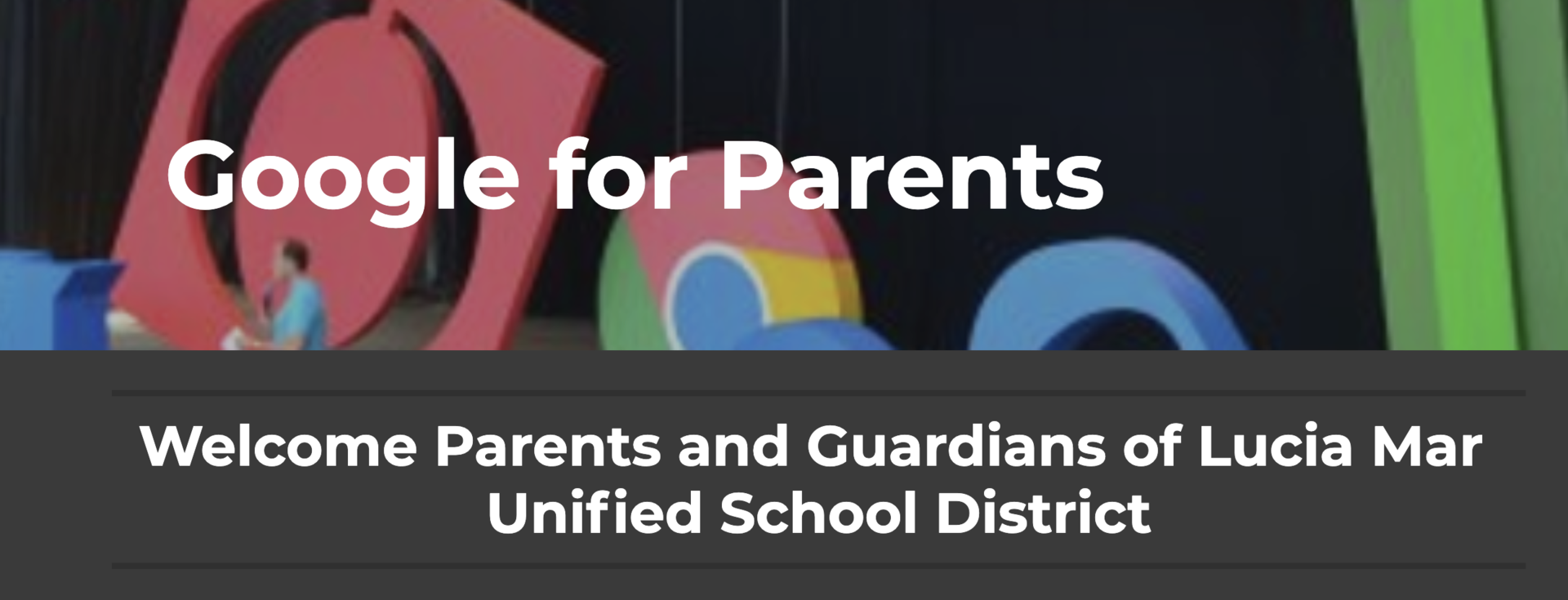LMUSD Google for Parents