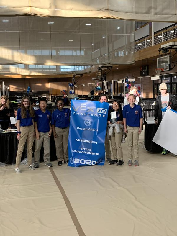 VEX Pirate Pride Robotics Team Won the Design Award at the State Championships Featured Photo