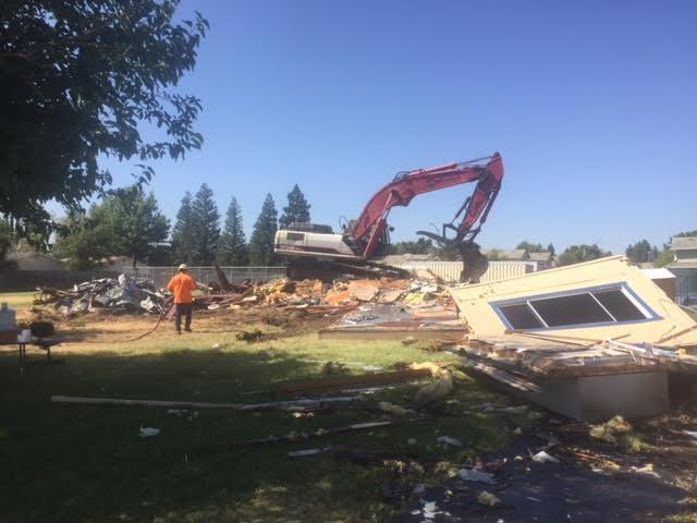 Taylor Street Demolition