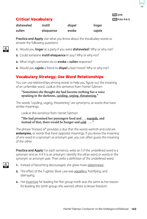 Language Art – Ms  Somsak – Key Academy Charter School