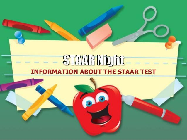 STAAR and Literacy Night, Thursday, April 15 Featured Photo