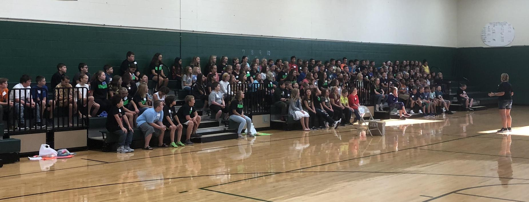 Orientation for 6th Graders
