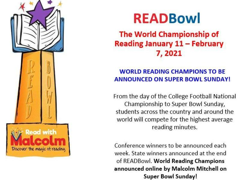 Read Bowl Starts January 11th!