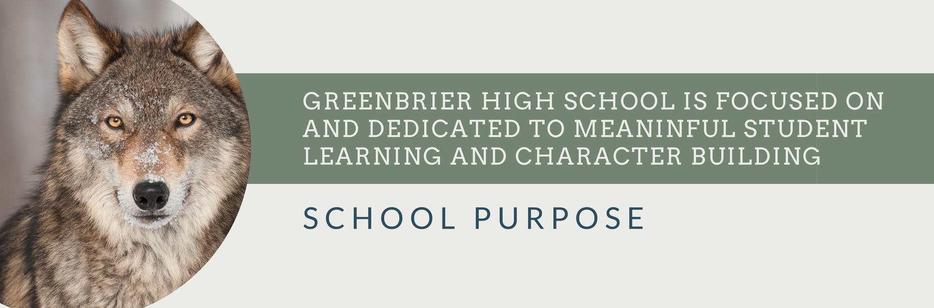 School purpose