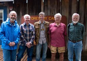 Group Photo of Founders of the Feather River Outdoor School