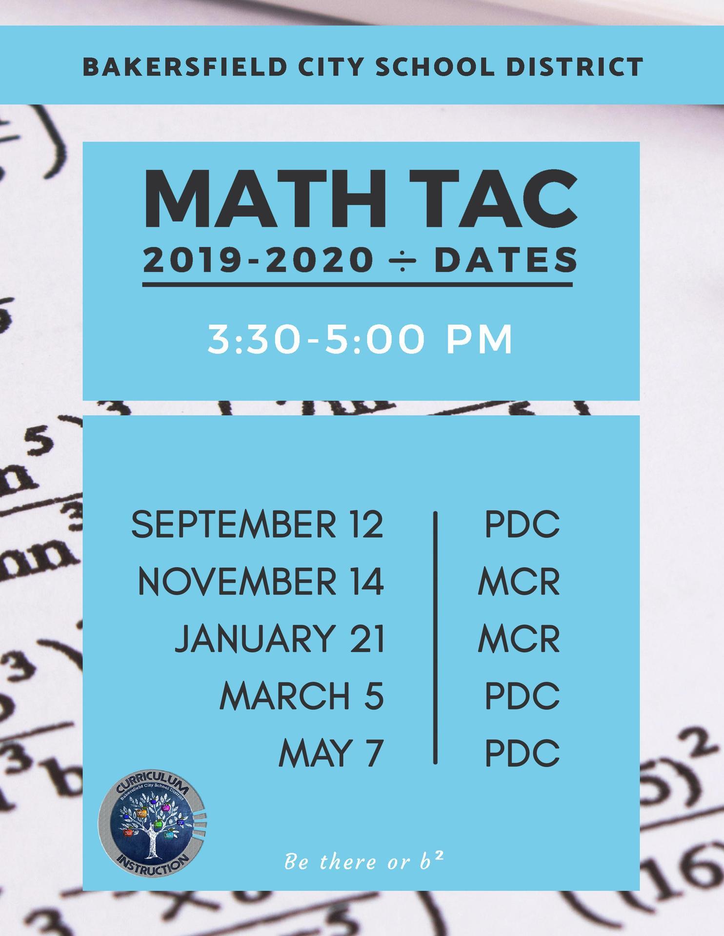 Math TAC