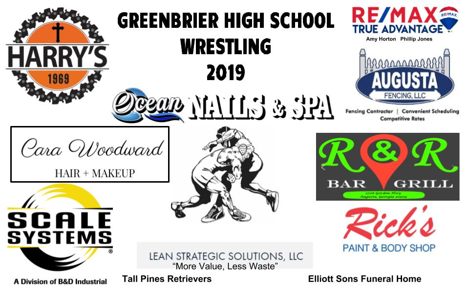 Wrestling Sponsors