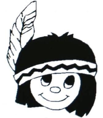 little warrior mascot image