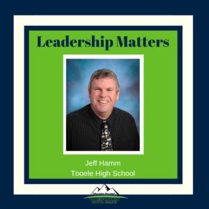 THS Principal Jeff Hamm