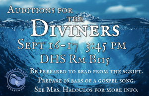 Diviners audition poster