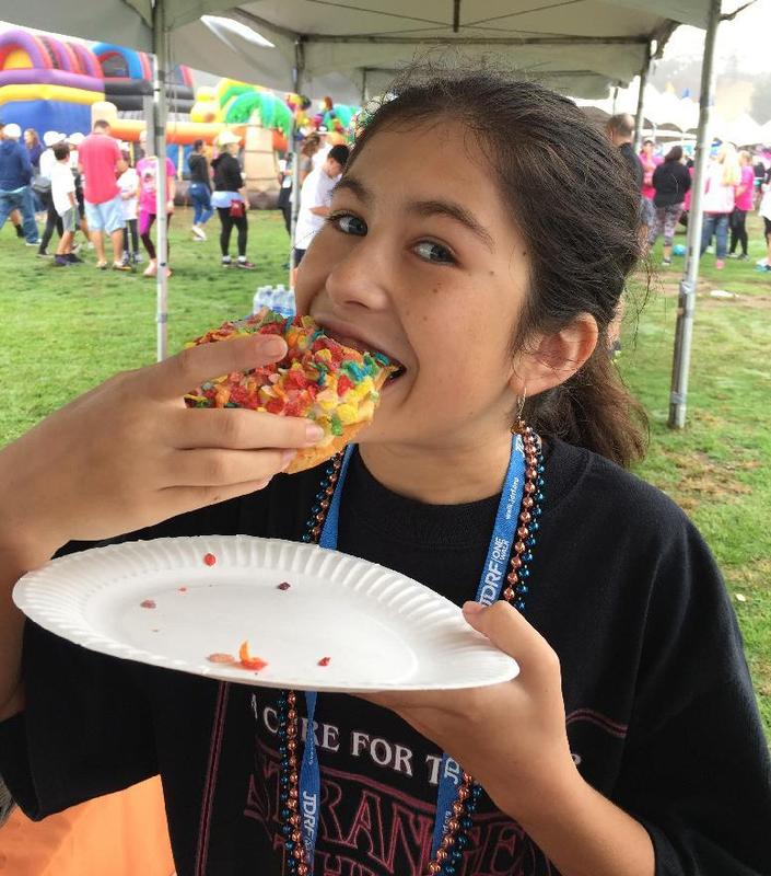 Eighth Grader Eva Coleman Hard at Work to End Childhood Diabetes Featured Photo