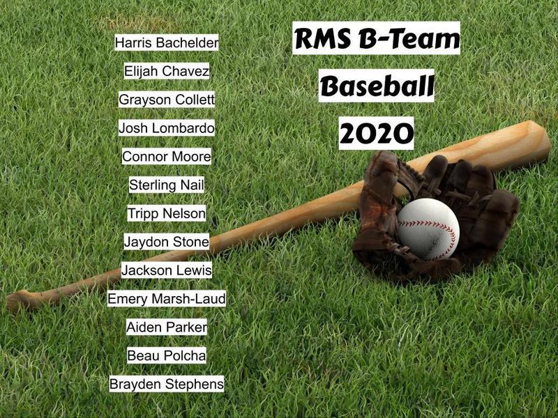 2019-2020 B Team Baseball Team Featured Photo