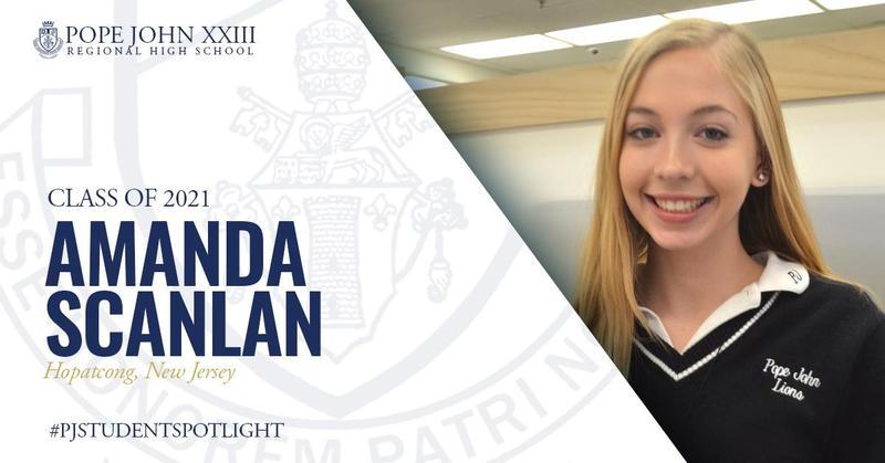 Amanda Scanlan PJ Student Spotlight