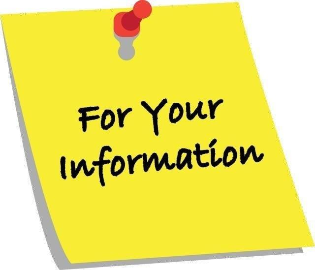 For your information post it image