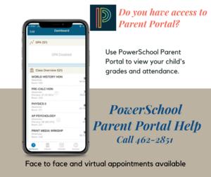Parent Portal Help
